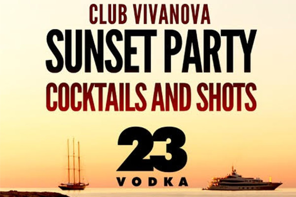 VODKA23 Sunset Party
